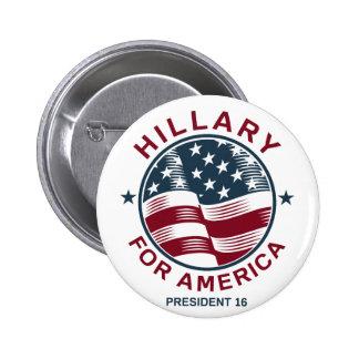 Hillary Clinton 16 2 Inch Round Button