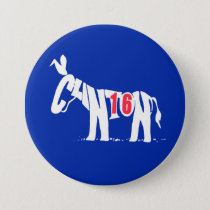 Hillary Clinton '16 Button