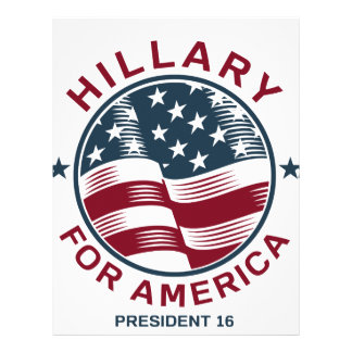 Hillary Clinton 16 Letterhead