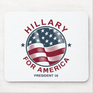 Hillary Clinton 16 Mouse Pad