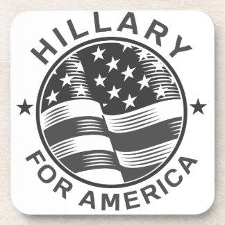 Hillary Clinton 16 Posavasos De Bebidas