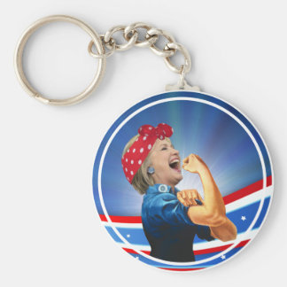 Hillary Clinton 1st Woman Presidential Nominee Keychain