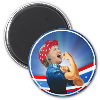 Hillary Clinton 1st Woman Presidential Nominee Magnet
