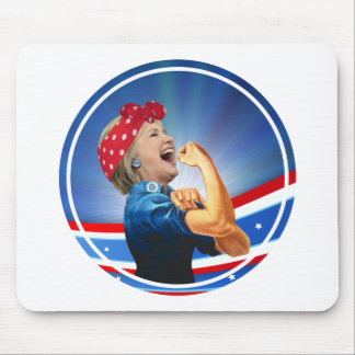 Hillary Clinton 1st Woman Presidential Nominee Mouse Pad