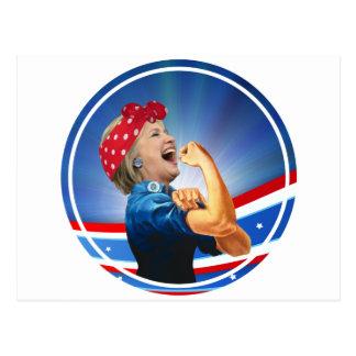 Hillary Clinton 1st Woman Presidential Nominee Postcard