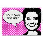 Hillary Clinton 2012 Felicitación