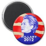 Hillary Clinton 2012 Magnet