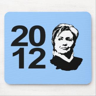 Hillary Clinton 2012 Mouse Pad
