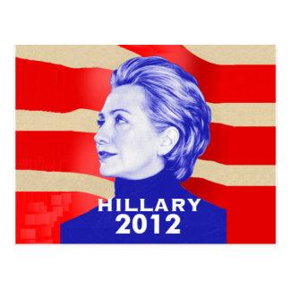 Hillary Clinton 2012 Postcard