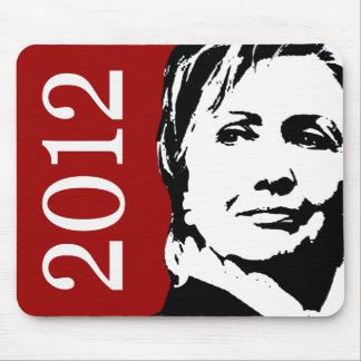 Hillary Clinton 2012 Alfombrillas De Ratón