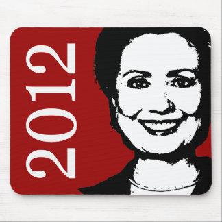 Hillary Clinton 2012 Alfombrilla De Ratones
