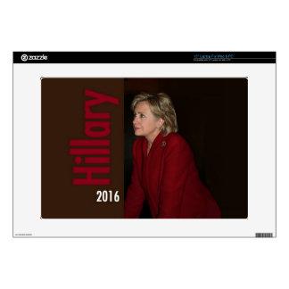 "Hillary Clinton 2016 15"" Laptop Skins"