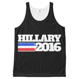 Hillary Clinton 2016 All-Over Print Tank Top