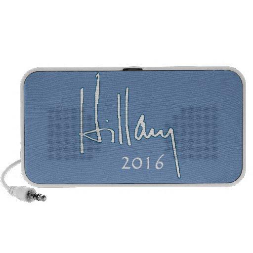 Hillary Clinton 2016 Altavoces De Viaje