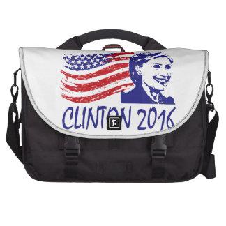Hillary Clinton 2016 artículos de la ayuda Bolsas De Portátil