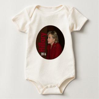 Hillary Clinton 2016 Baby Bodysuit