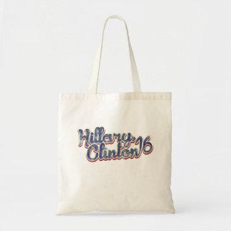 Hillary Clinton 2016 Budget Tote Bag