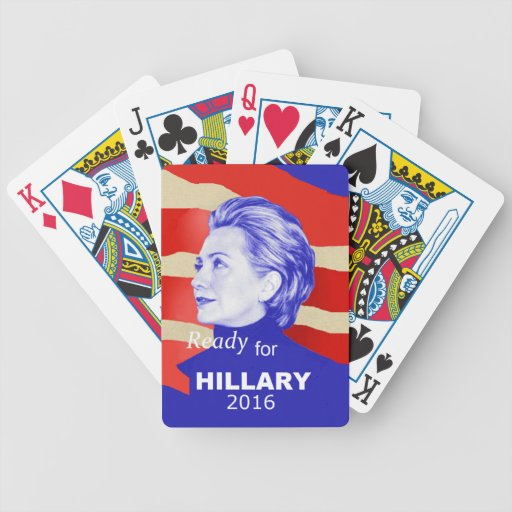 Hillary Clinton 2016 Baraja De Cartas