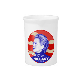 Hillary Clinton 2016 Beverage Pitcher