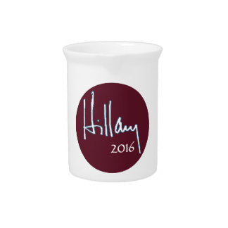 Hillary Clinton 2016 Beverage Pitcher