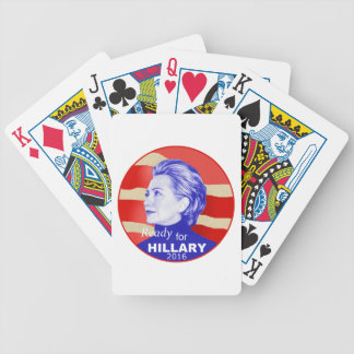 Hillary Clinton 2016 Bicycle Playing Cards
