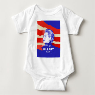 Hillary Clinton 2016 Body Para Bebé