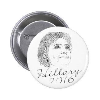 Hillary Clinton 2016 Pin