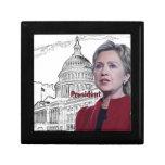 Hillary Clinton 2016 Cajas De Joyas