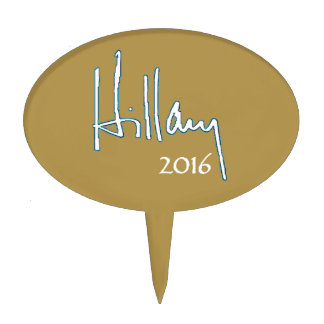 Hillary Clinton 2016 Cake Topper