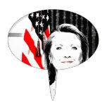 Hillary Clinton 2016 Cake Toppers