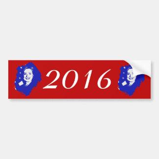 Hillary Clinton 2016 Pegatina De Parachoque