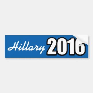 HILLARY CLINTON 2016 PEGATINA PARA COCHE
