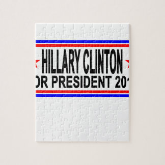 Hillary Clinton 2016 camisetas .png Rompecabezas