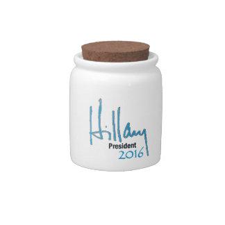 Hillary Clinton 2016 Candy Jar
