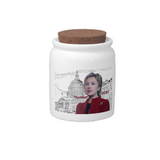 Hillary Clinton 2016 Candy Dishes