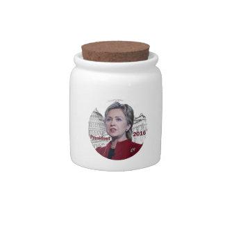Hillary Clinton 2016 Candy Dish