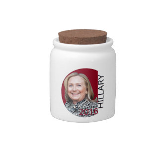 Hillary Clinton 2016 Candy Jars
