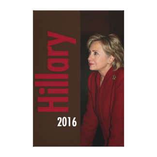 Hillary Clinton 2016 Canvas Print