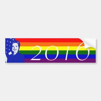 Hillary Clinton 2016 Car Bumper Sticker