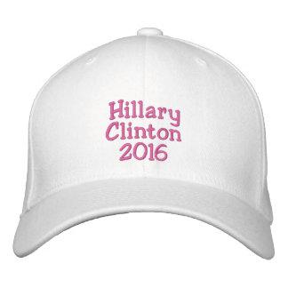 Hillary Clinton 2016. Casa Blanca lista Gorras De Béisbol Bordadas
