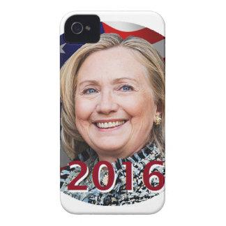 Hillary Clinton 2016 Case-Mate iPhone 4 Coberturas