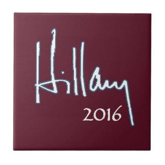Hillary Clinton 2016 Ceramic Tile