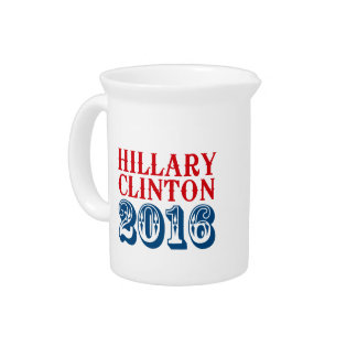HILLARY CLINTON 2016 CLASSIC PITCHER