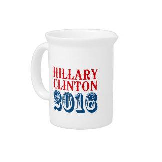 HILLARY CLINTON 2016 CLASSIC PITCHER