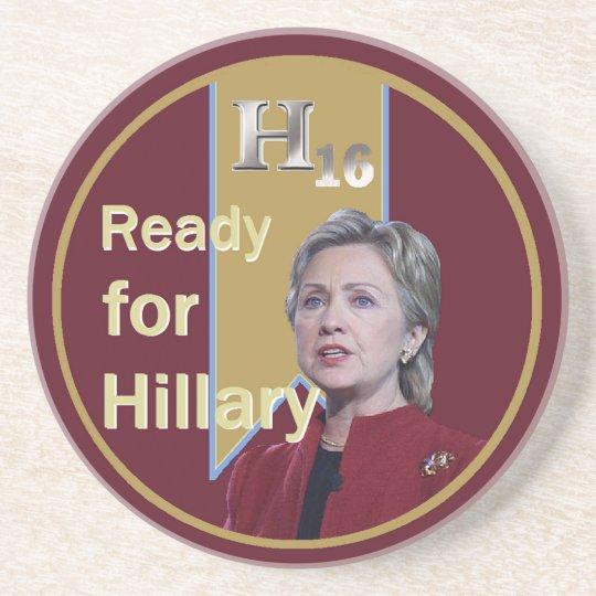 Hillary Clinton 2016 Coaster