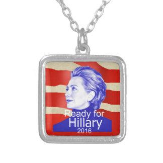 Hillary Clinton 2016 Pendientes