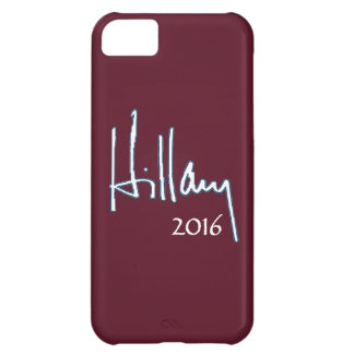 Hillary Clinton 2016 Cover For iPhone 5C