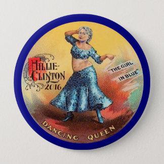 Hillary Clinton 2016 Dancing Queen Button