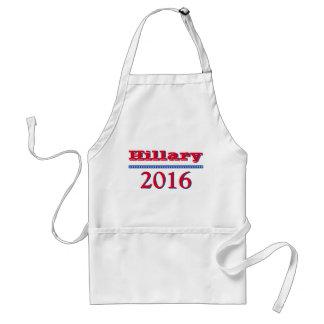 Hillary Clinton 2016 Delantal