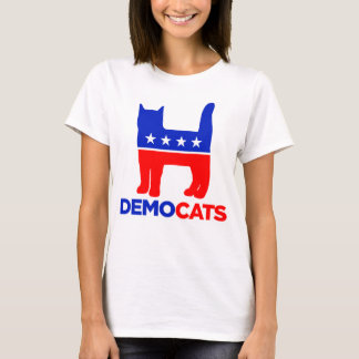 "Hillary Clinton 2016: ""DEMOCATS"" Women's T-shirt"